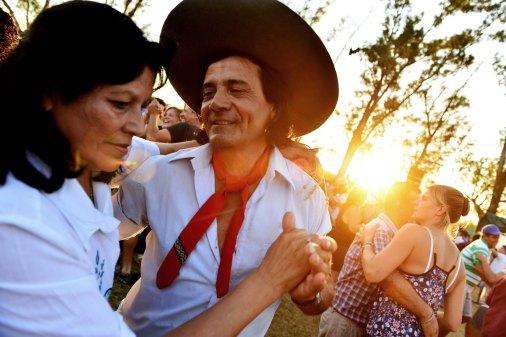 Festival Nacional del Chamamé de #FEDERAL Foto: @roggercabral